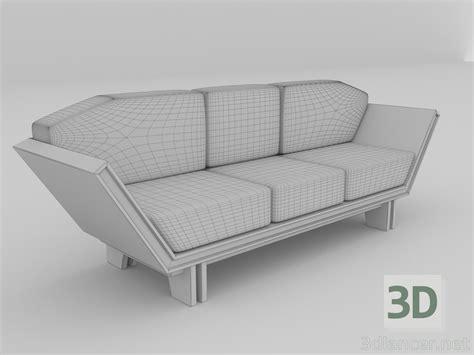 Model Sofa Modern 3d Model Modern Sofa