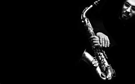jazz wallpaper black and white 11 saxophone hd wallpapers background images wallpaper