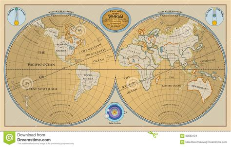 globe maps of the world vector of globe map of world with new discoveries of
