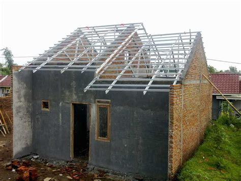 Konstruksi Ruang Baja gambar kerangka atap rumah minimalis