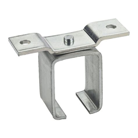 trolley rail barn door bracket single ceiling mount