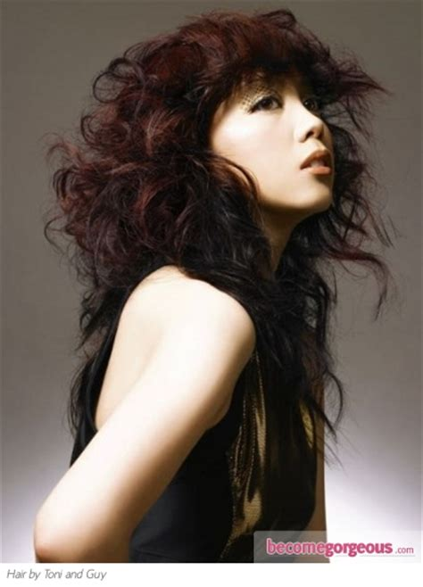 soft wave rebond tonny anf jackie pictures long hairstyles long messy rock chic hair style