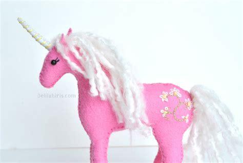 Felt Pattern Unicorn | felt horse pattern delilah iris