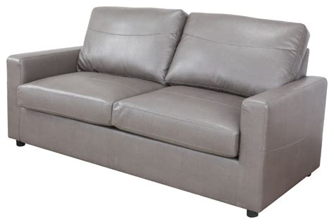 Modern Pull Out Sofa by Bonded Leather Living Room Sleeper Pull Out Sofa And Bed