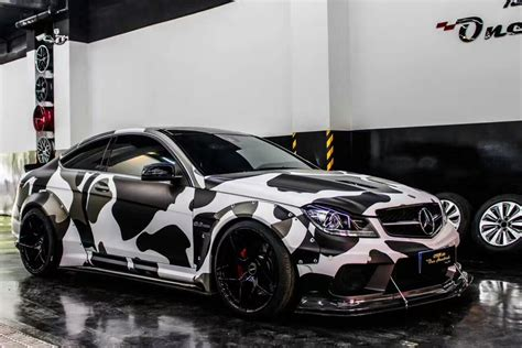 mercedes rs mercedes c63 amg coupe w204 rs wide kit