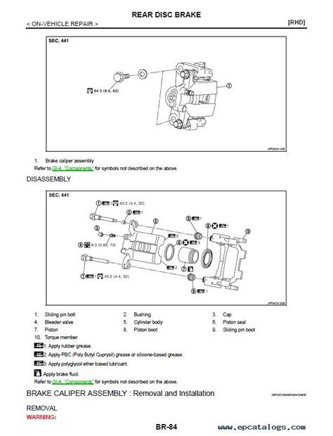 service manuals schematics 2007 nissan murano security system nissan murano model z51 series service manual