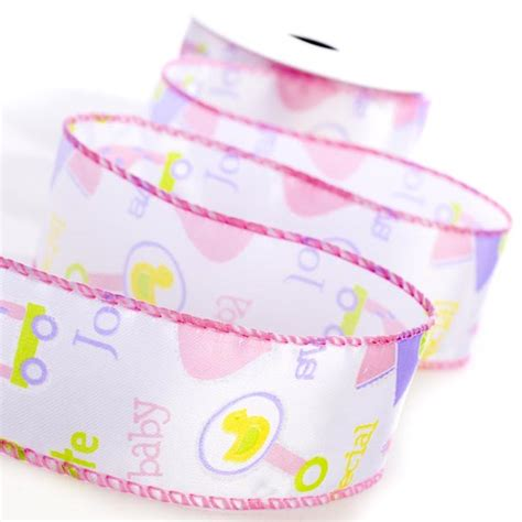 baby shower ribbon for baby wired ribbon it s a theme baby shower
