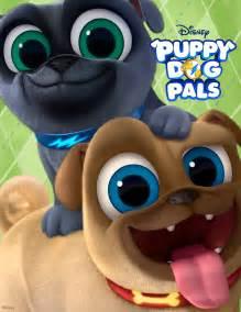 harland williams puppy dog pals sit stay disney tv animation magazine