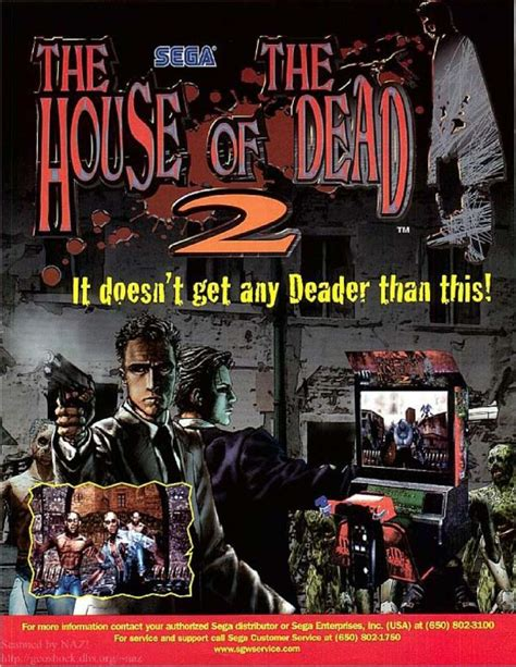 the house of the dead 2 the house of the dead 2 1998 arcade box cover art mobygames