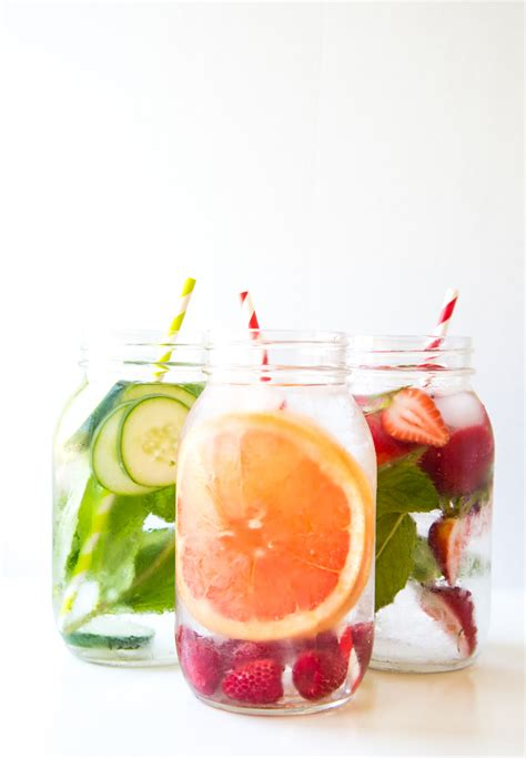 What Fruit Are In Water To Drink And Detox by Fruit Infused Water Steamed Not Fried