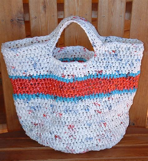 recycled tote bag pattern recycled round grocery tote bag my recycled bags com