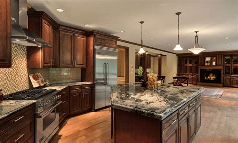 chocolate maple glazed granite countertops seattle