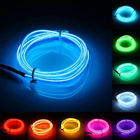 Led Light Colors by 2aa Battery Powered 2 3 5m Led Light 10 Colors El