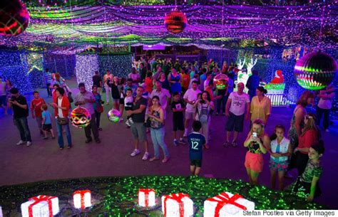 tree lights australia canberra smashes world record for most lights on a