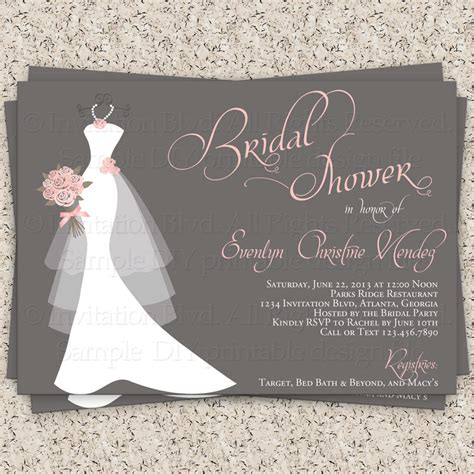 Bridal Shower Invitation by Bridal Shower Invitation Wedding Shower By Invitationblvd