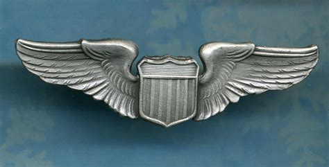 Wing Pilot Badge Us Air Usaf Emblem army air corps pilot wings air aviator badge insignia pin ebay