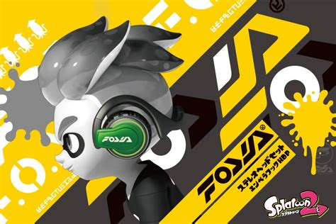 Nintendo Hori Switch Splatoon 2 Splat Chat Headset an official splatoon 2 headset for switch is coming to japan