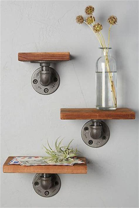 Shelf Fittings by Best 25 Industrial Pipe Shelves Ideas On Pipe