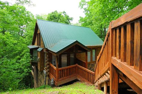 Cheap Pet Friendly Cabins In Gatlinburg by Chasing Moonbeams 1 Bedroom Cabin In Gatlinburg