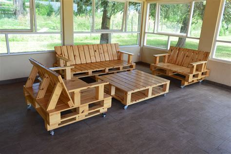 muebles de madera de palets muebles realizados con palets ideas modelos de madera