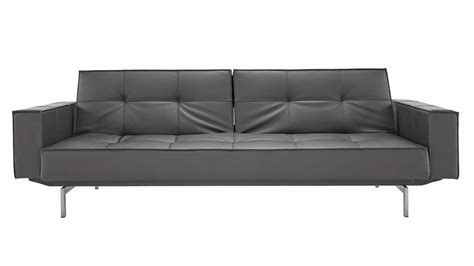 steel sofa online brawn stainless steel sofa with arms in black zuri furniture