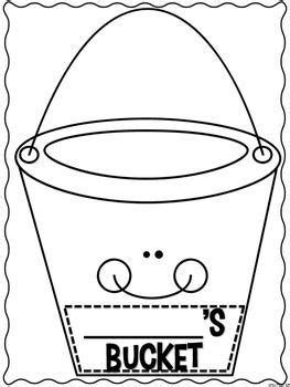 how full is your bucket activity 1st grade pinterest