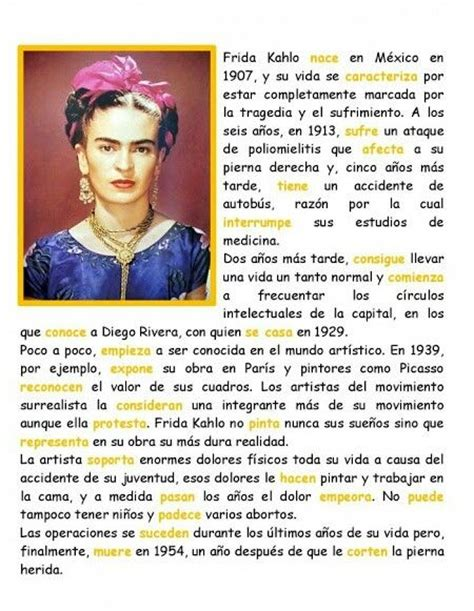 frida kahlo biography francais biography of frida khalo biograf 237 a de frida khalo