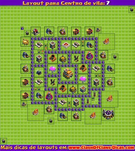 layout vila cv 7 melhores layouts para clash of clans centro de vila n 237 vel