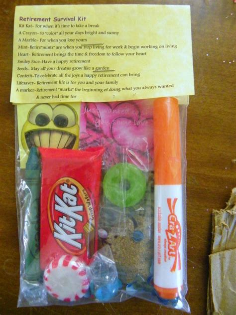 Gifts For Survivalists - retirement survival kit 10 items inside novelty gift