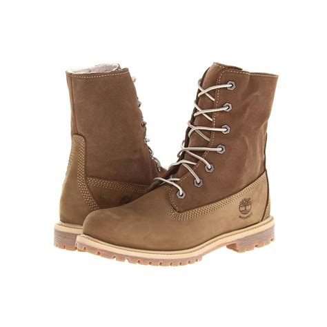 timberland womans boots timberland women s authentics teddy fleece fold boots