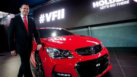holden made in australia holden unveils last australian made commodore