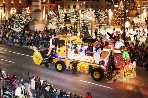 parade of lights rapid city road closures set for festival of lights parade local