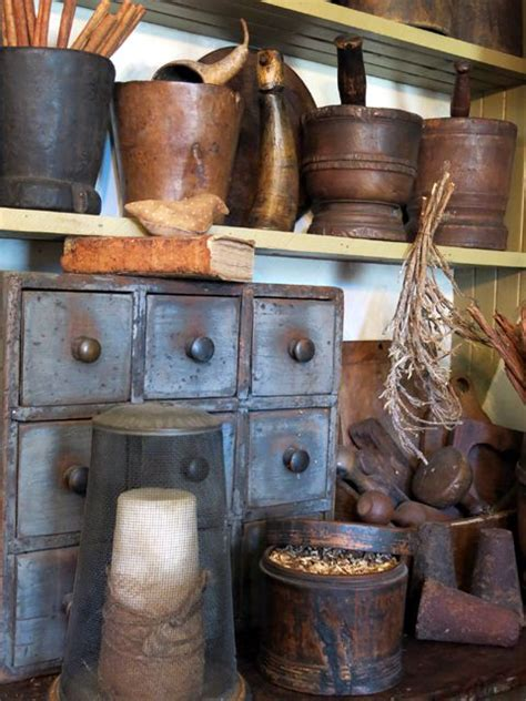 shoo bowl and cabinet 571 best images about small primitive displays on