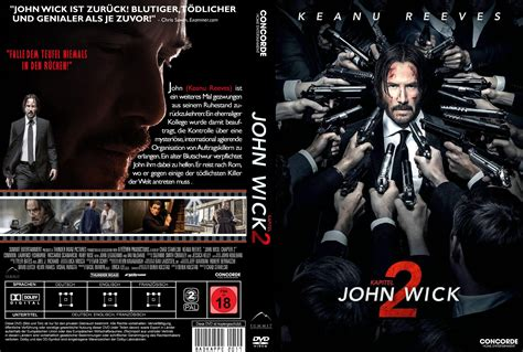 subtitle indonesia film john wick john wick kapitel 2 v 2 dvd cover 2017 r2 german custom