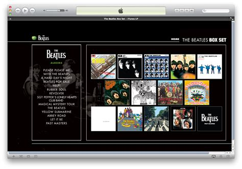 The Beatles Box Set on iTunes    iMore