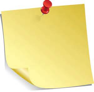 yellow sticky note clipart vectoriel thinkstock