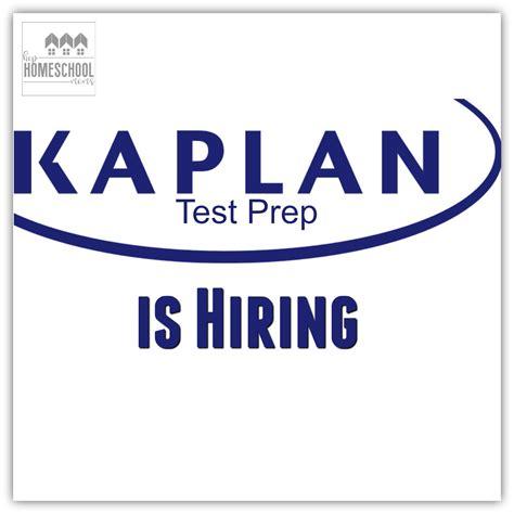 kaplan test kaplan test prep is hiring hip homeschool