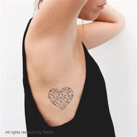tattoo geometric heart 35 marvelous heart tattoo ideas
