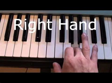youtube tutorial let her go let her go piano tutorial how to play the piano intro