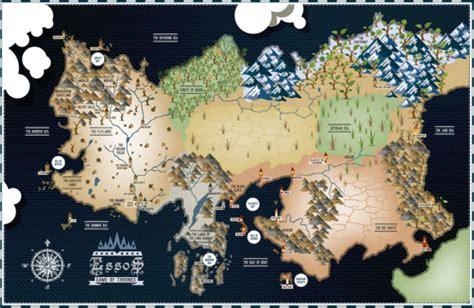 map layout for game of thrones game of thrones essos map 17 215 11 poster bensmind
