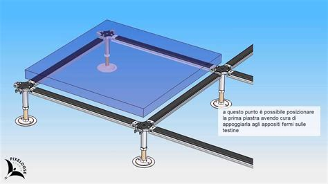 pavimento tecnico sopraelevato istruzioni di montaggio per pavimento sopraelevato