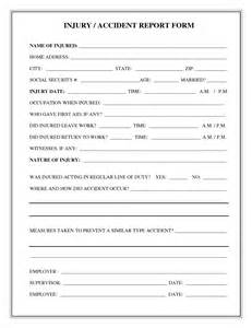 aid report form template aid incident report form template aid