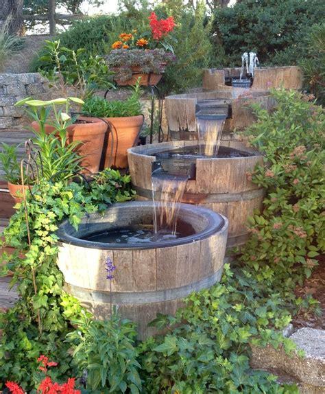 wine barrel garden ideas best 25 wine barrel planter ideas on wine