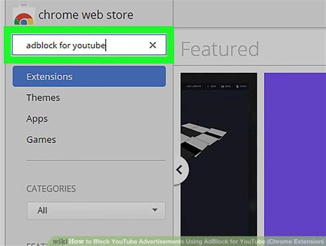How To Stop Chrome From Searching In Address Bar How To Block Advertisements Using Adblock For Chrome Extension