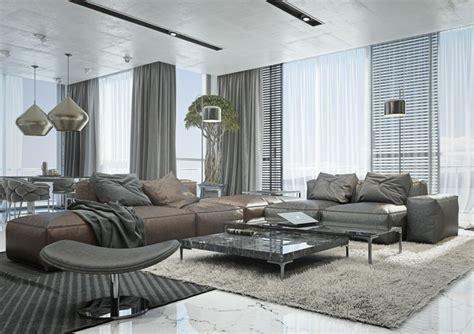 wohnzimmer ideen  einrichten mit neutralfarben