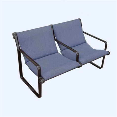 mid century settee metro retro furniture mid century modern knoll hannah