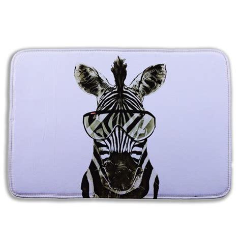 zebra teppiche kaufen gro 223 handel zebra bad teppich aus china zebra
