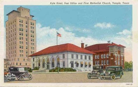 Post Office Temple Tx by Postcards From Bell County