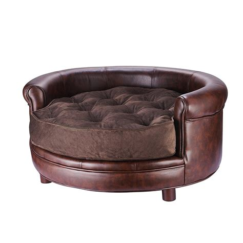 Faux Leather Chesterfield Sofa Amazoncom Villacera Chesterfield Faux Leather Large Bed Beds And Costumes