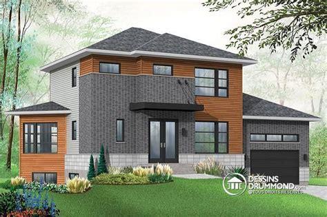 192 la recherche d un plan de maison moderne offrant un sous sol avec logement regardez ce